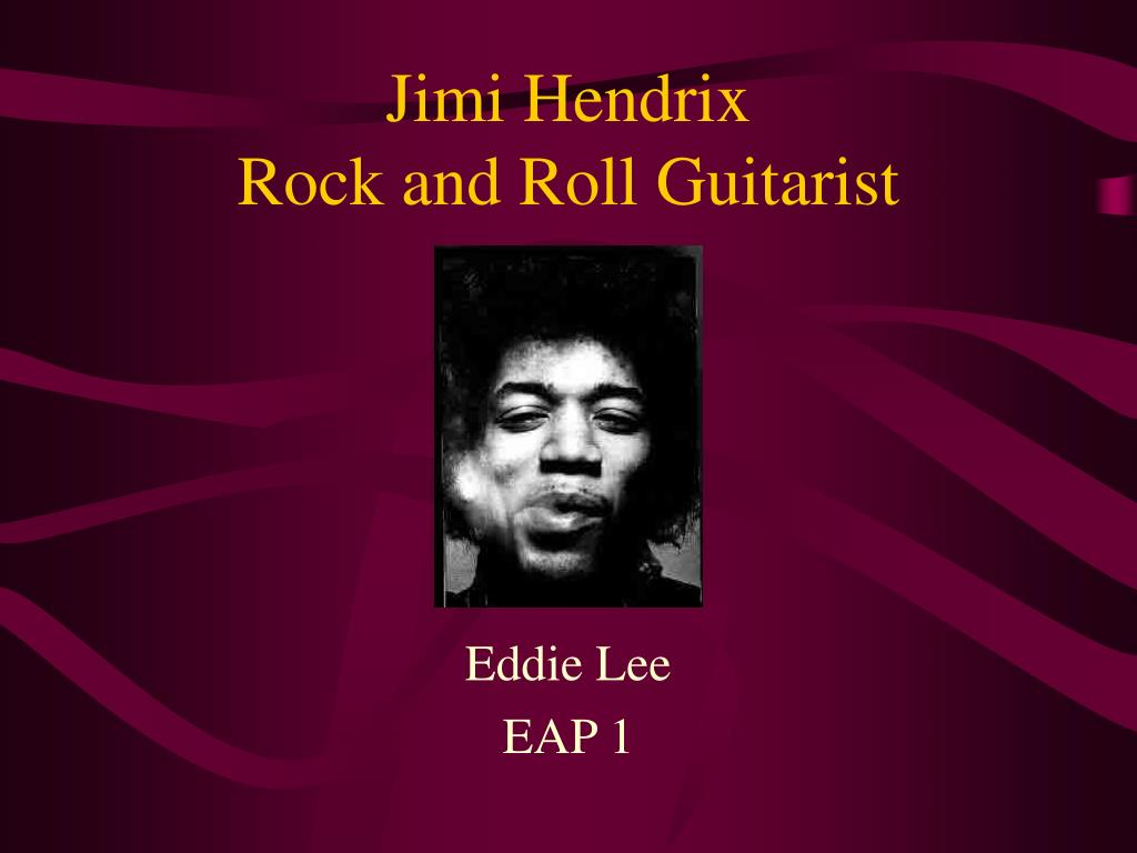 jimi hendrix rock and roll guitarist l.