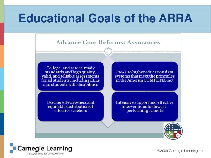 Educational Goals of the ARRA