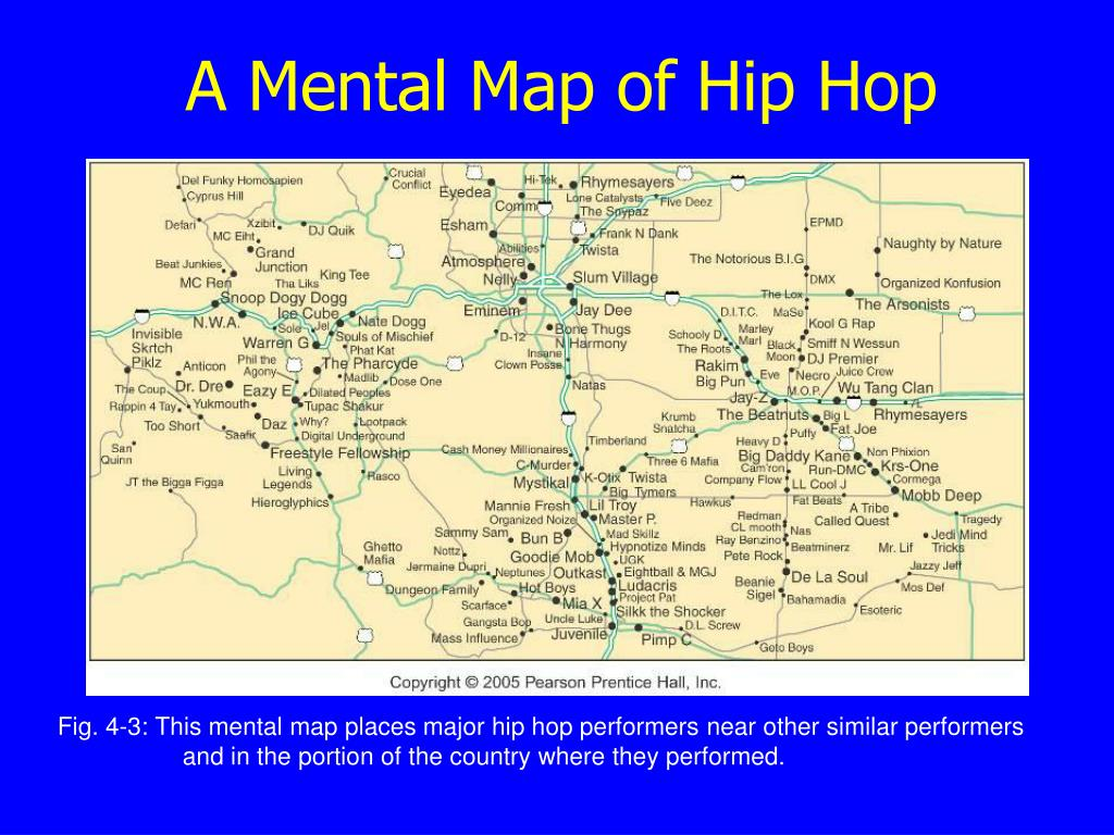 A Mental Map of Hip Hop