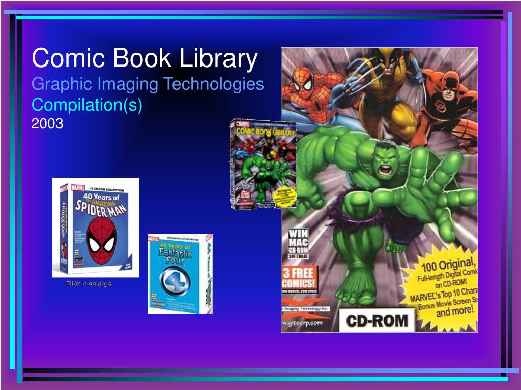 Comic Book Library
