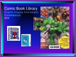 comic book library graphic imaging technologies compilation s 2003
