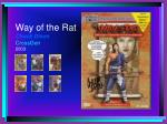way of the rat chuck dixon crossgen 2003