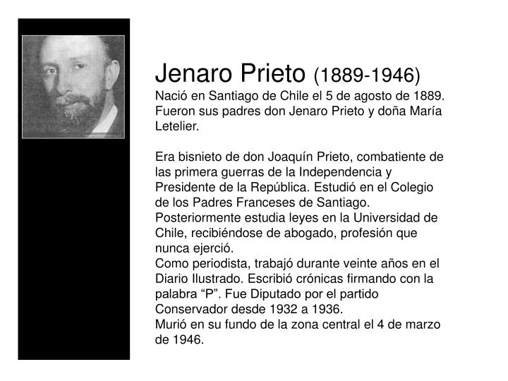 Jenaro Prieto