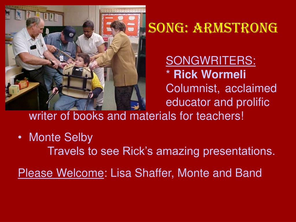 SONG: ARMSTRONG