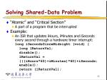 solving shared data problem36