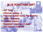 blue point fire dept