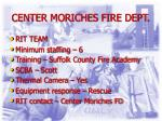 center moriches fire dept