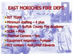 east moriches fire dept