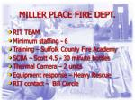 miller place fire dept