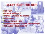 rocky point fire dept