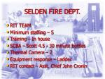 selden fire dept