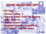 sound beach fire dept