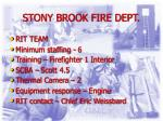 stony brook fire dept