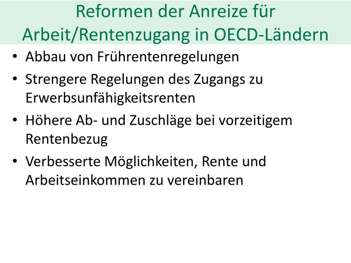 Reformen