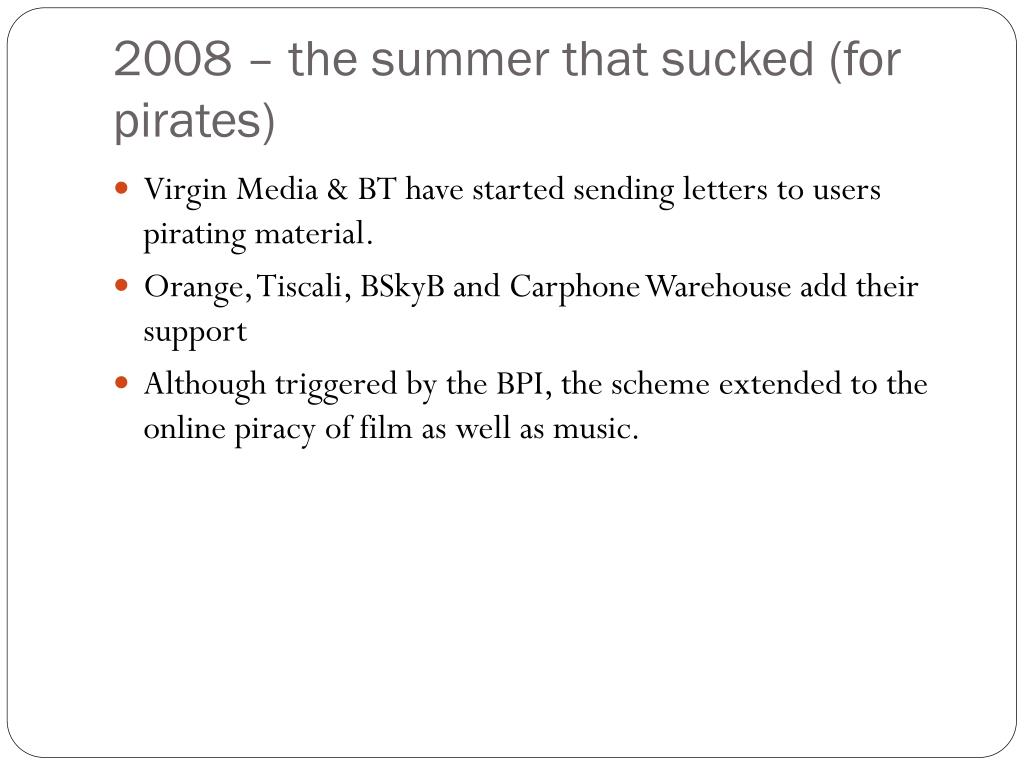 2008 – the summer that sucked (for pirates)