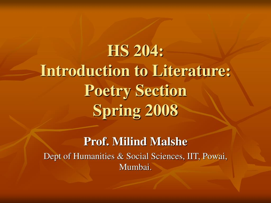 HS 204:
