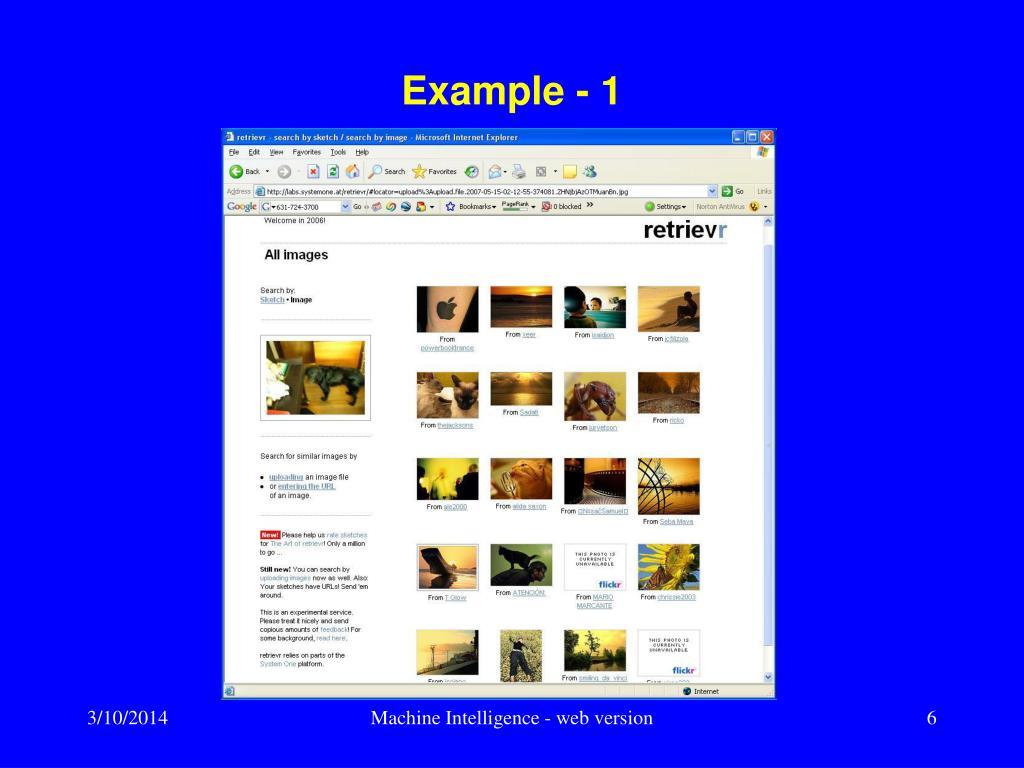 Example - 1