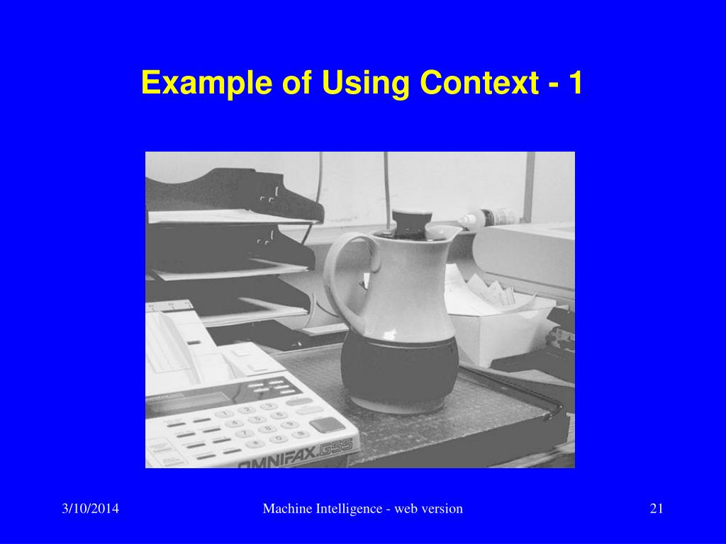 Example of Using Context - 1