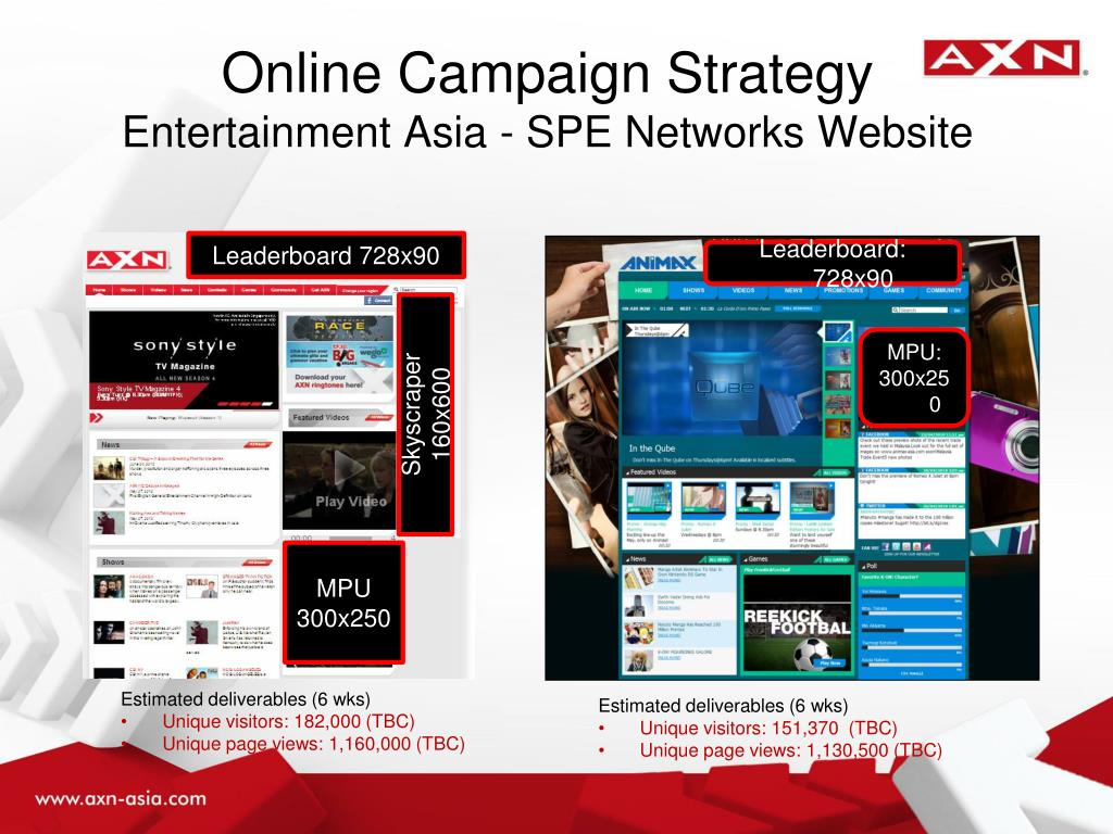 Online Campaign Strategy