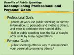 benefits of public speaking accomplishing professional and personal goals