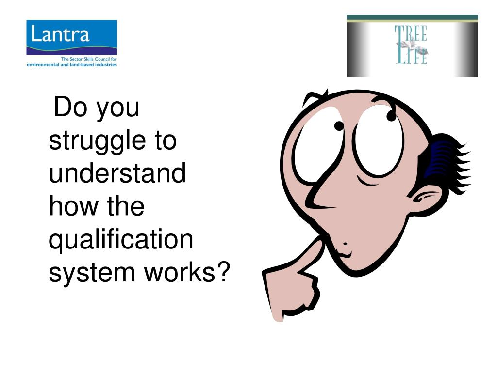 Do you struggle to understand how the qualification system works?