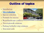 outline of topics6