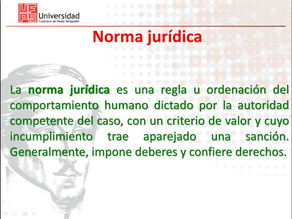 Ppt Norma Jurídica Powerpoint Presentation Free Download