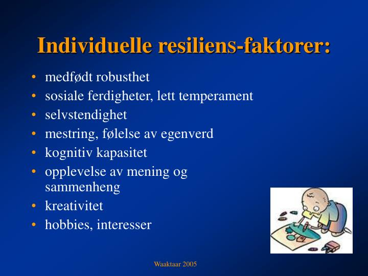 Individuelle resilien