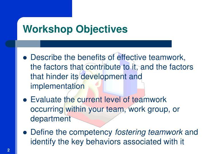 ppt fostering teamwork powerpoint presentation id 90383