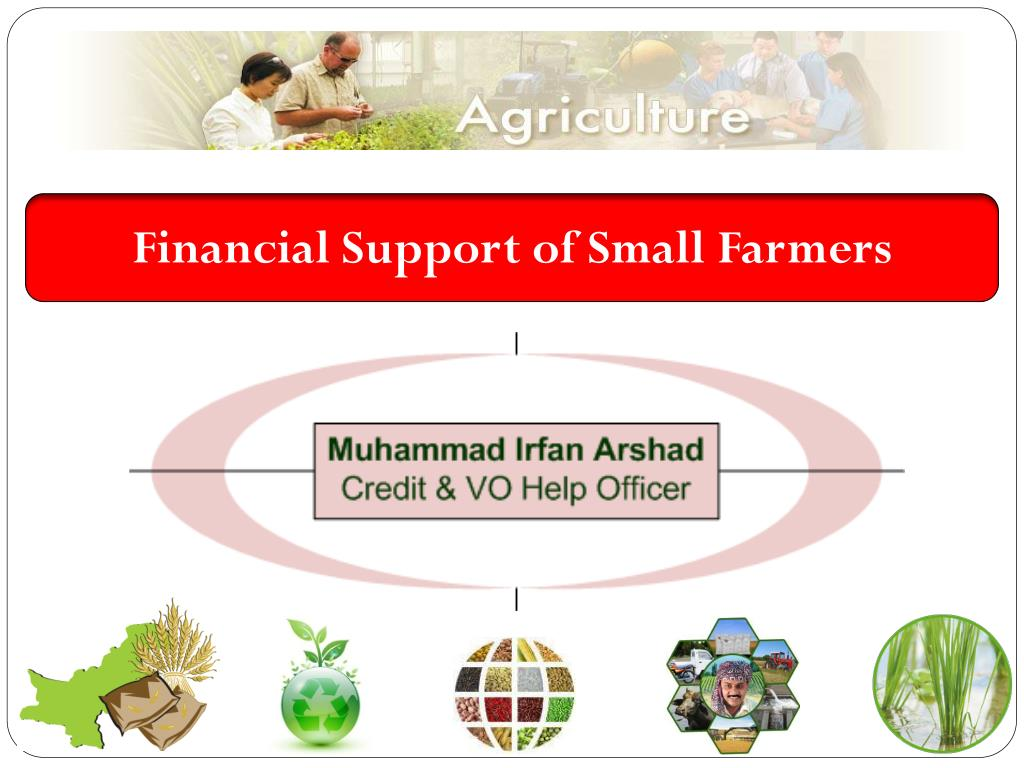 Financial Support of Small Farmers