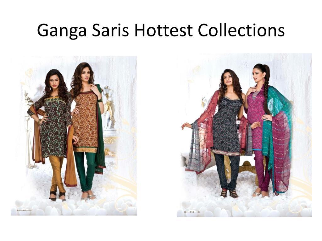 Ganga Saris Hottest Collections