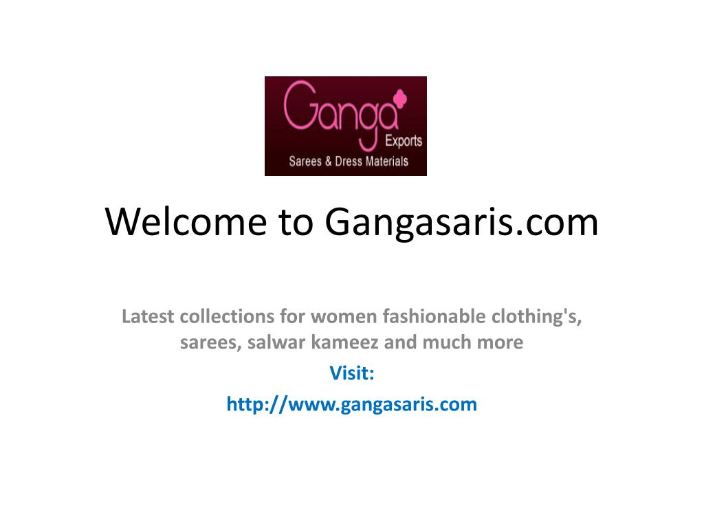 Welcome to Gangasaris.com