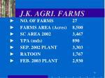 j k agri farms