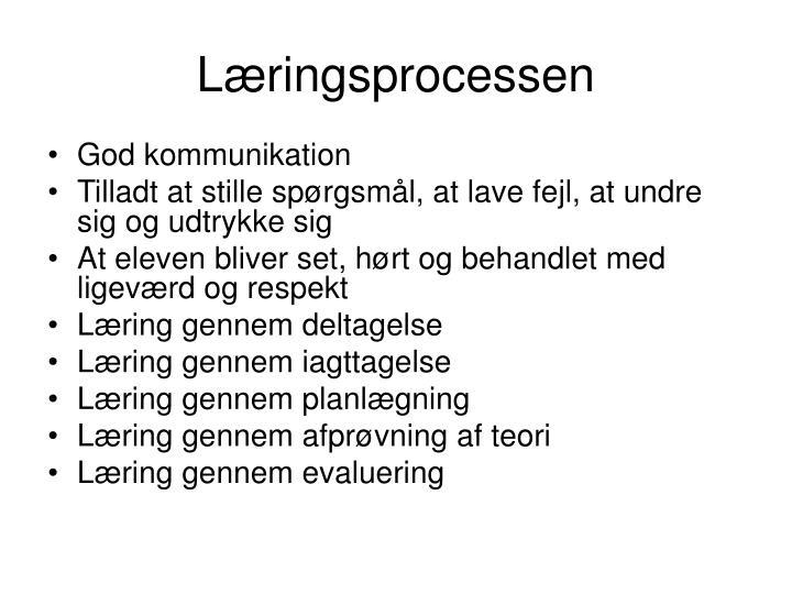 Læringsprocessen