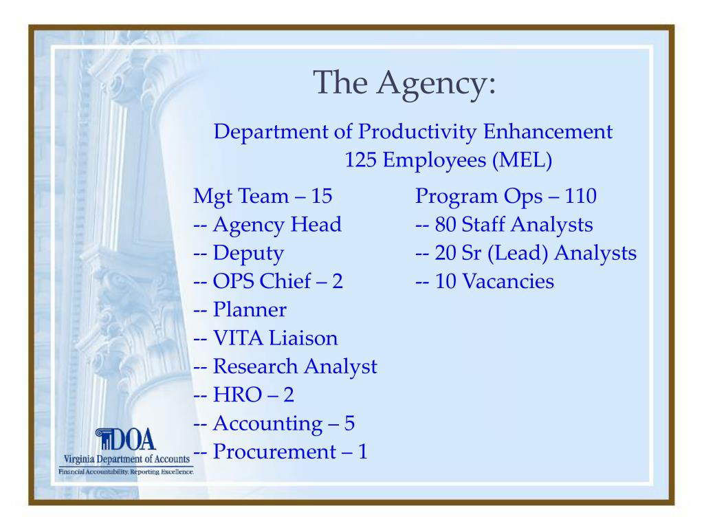 The Agency: