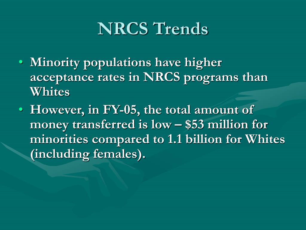 NRCS Trends
