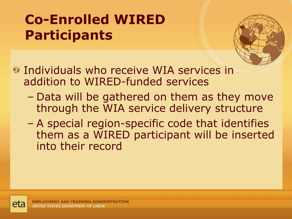 Co-Enrolled WIRED Participants
