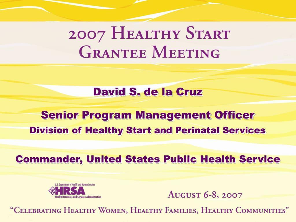 David S. de la Cruz