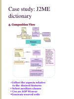 case study j2me dictionary15