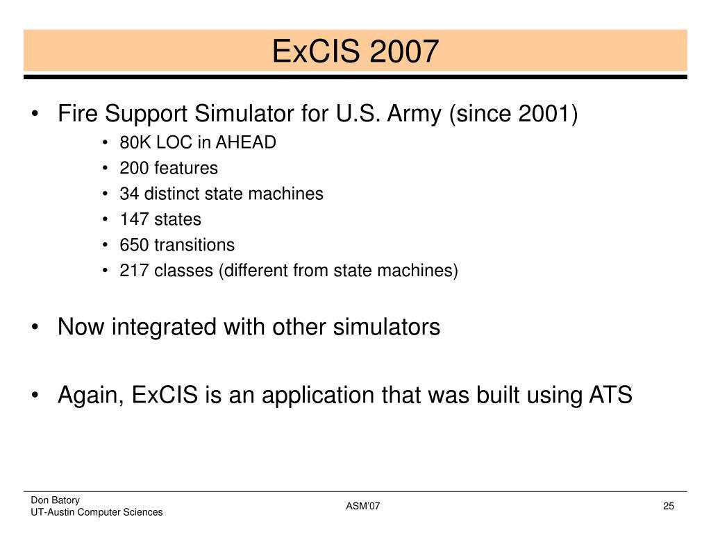 ExCIS 2007