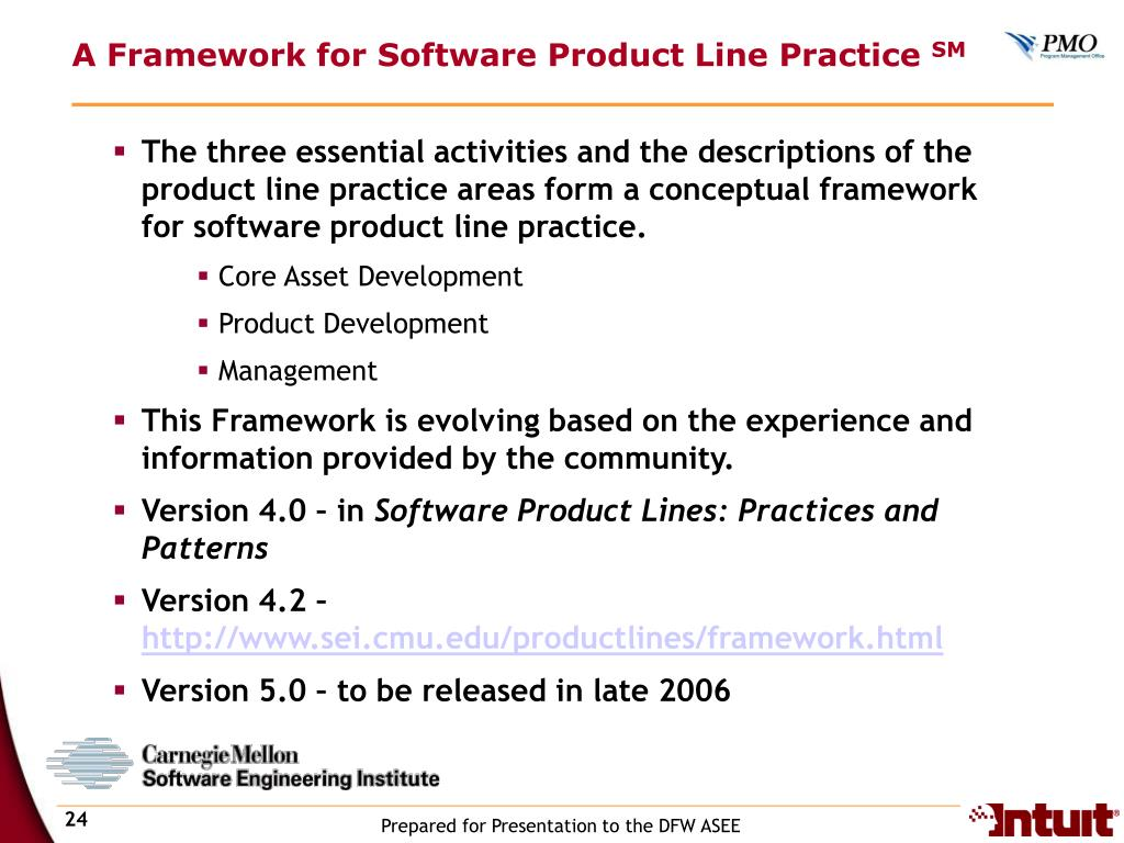 A Framework for Software Product Line Practice