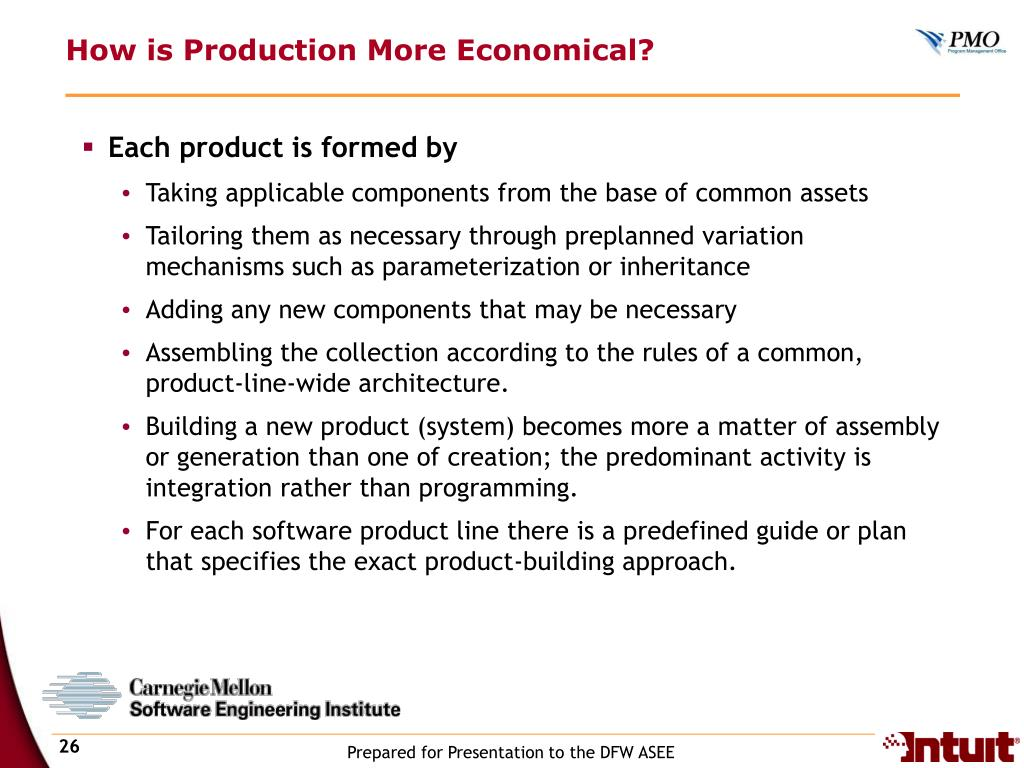 How is Production More Economical?