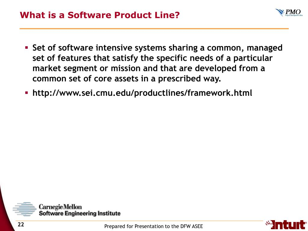 What is a Software Product Line?