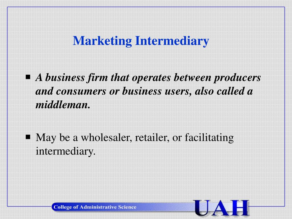 marketing intermediary l.