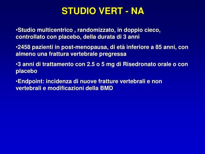 STUDIO VERT - NA