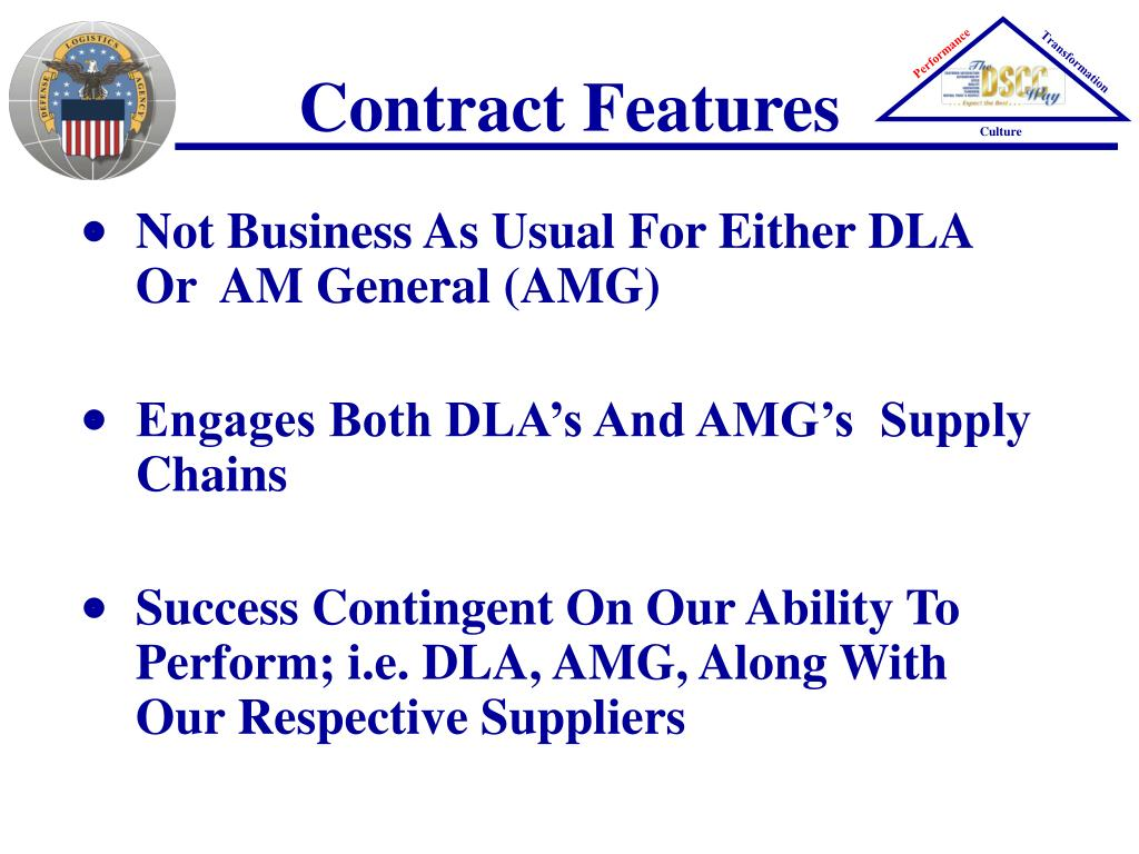 Contract Features