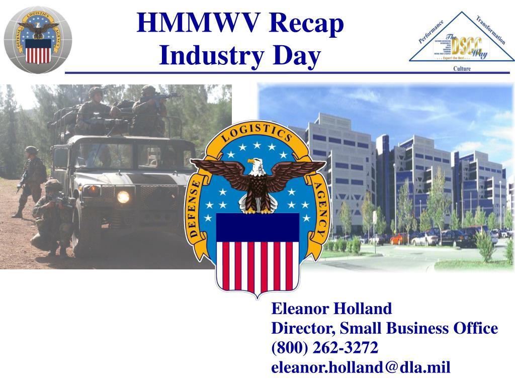 HMMWV Recap