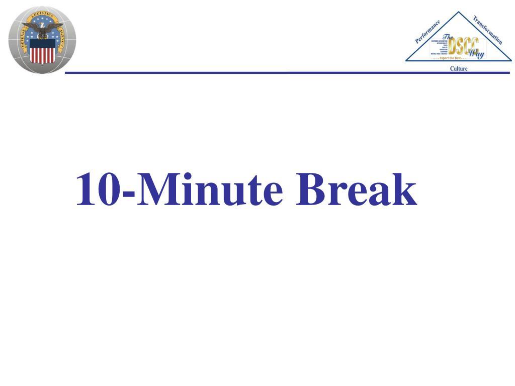 10-Minute Break