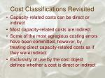 cost classifications revisited34