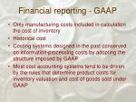 financial reporting gaap7